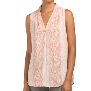 Blush Adrianna Papell blouse